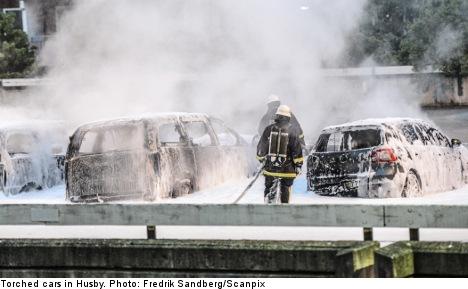 Seven arrested over Stockholm's Husby riots