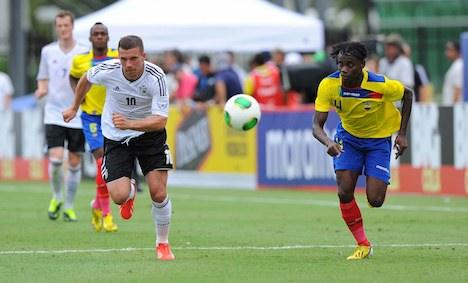 Podolski scores fastest Germany goal ever