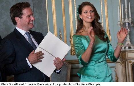 Princess Madeleine 'not nervous' about wedding