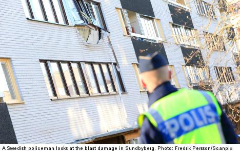 Three found dead after Stockholm blast