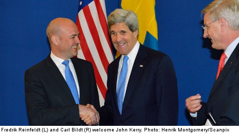Sweden is important to Afghanistan: Kerry