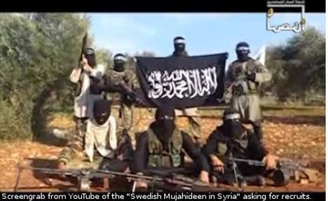Sweden 'far behind' on counter-terrorism