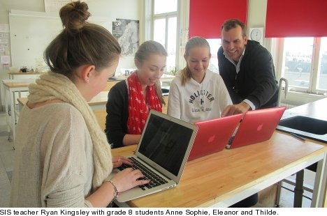 Stockholm International School – what's in IT for students?