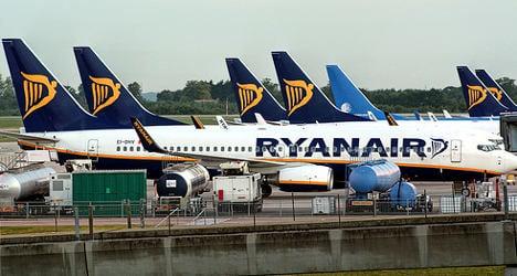 French prosecutors want seizure of Ryanair planes