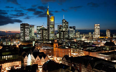 Frankfurt Germany's biggest crime city
