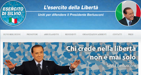 Devoted supporter starts Berlusconi 'army'