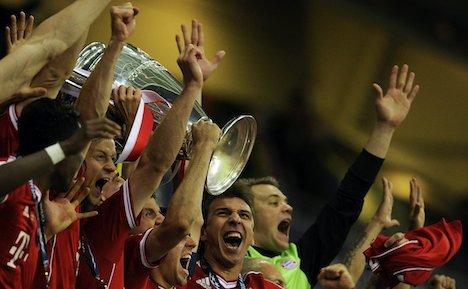Bayern defeat Dortmund in Wembley thriller