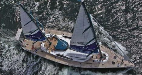 French court seizes Swiss explorer's sailboat
