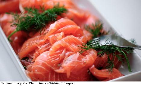 Sweden sells toxic Baltic salmon to EU: report
