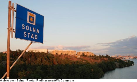 Solna voted best place to live in Sweden