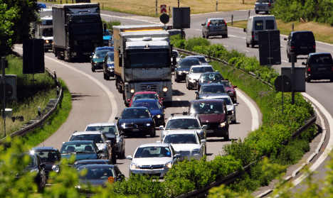 Holiday travellers face traffic trouble