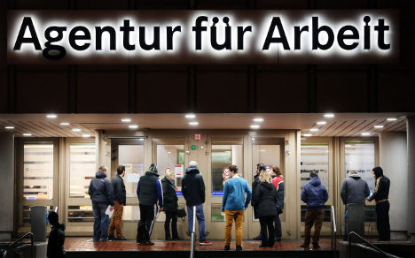 Cold weather chills German job market