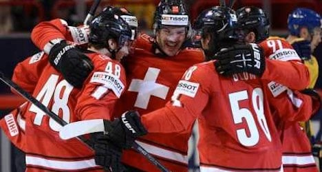 Swiss lose to Swedes in world ice hockey final