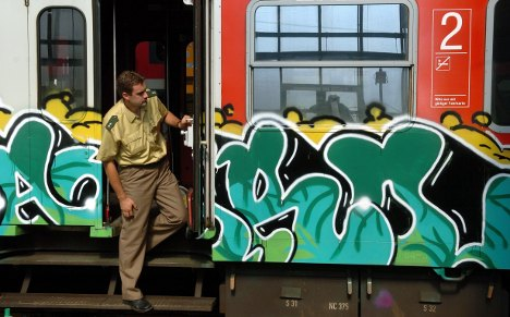 Bahn 'drone' helicopter to hunt graffiti vandals