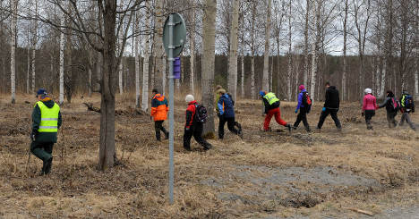 Volunteers join search for missing woman