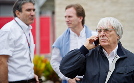 F1's Ecclestone 'faces German bribery charges'