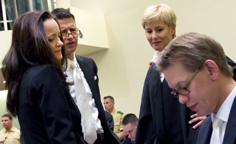 NSU trial told neo-Nazi woman 'part of kill squad'