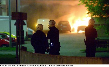 Stockholm cop probed over pre-riot killing