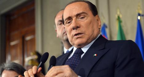 Suspicious letter sent to ex-PM Berlusconi