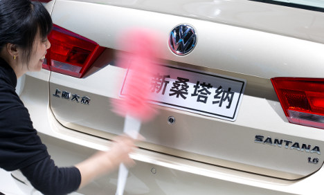 Volkswagen plans giant car plant in China