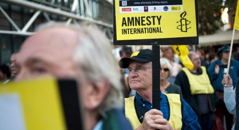 Amnesty wants Hollande to up human rights effort