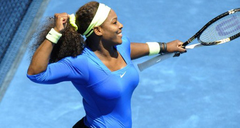 Serena Williams defends Madrid title in first battle