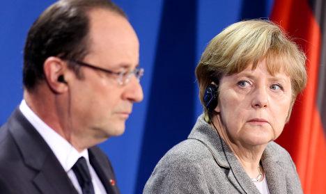 Franco-German friendship cools further