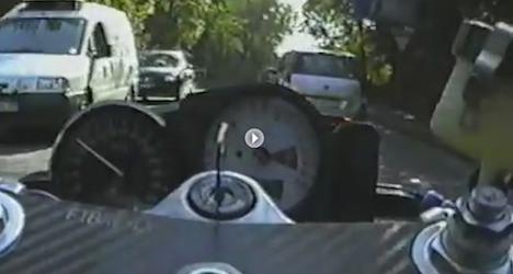 Speeding YouTube biker jailed for reckless driving
