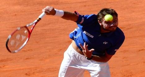 Wawrinka succumbs to Nadal in Madrid Masters