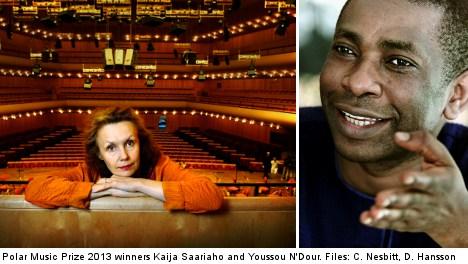 Youssou N'Dour scoops top Swedish music award