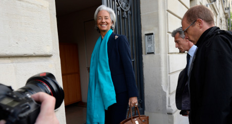 IMF's Lagarde spends second day in court
