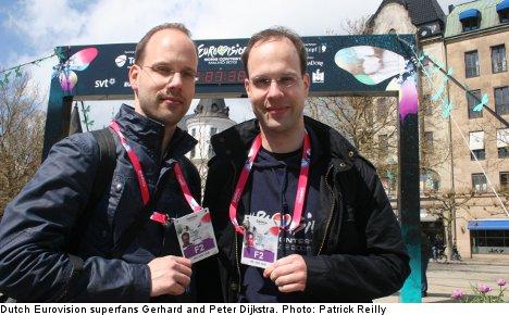 Eurovision superfans swarm southern Sweden