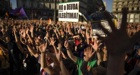Spain's 'indignants' renew street protests