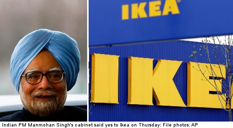 India seals Ikea's emerging-market push