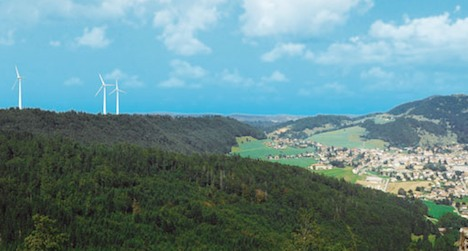 Wind farm wins approval in Jura Mountain village