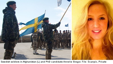 'Sweden should be proud of its troops'