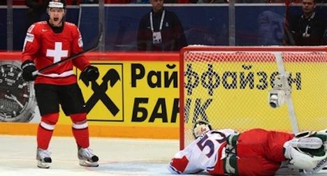 Swiss notch third victory in hockey championships