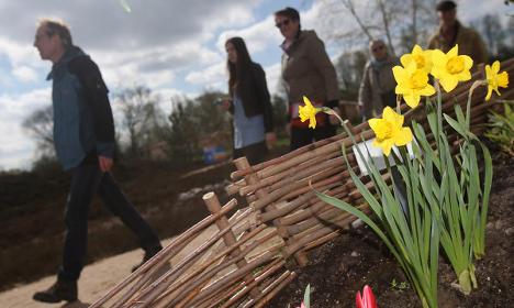 Visitors flock to Hamburg garden show