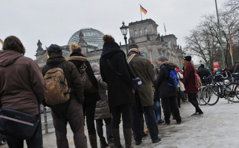Pricey Reichstag visitor centre scrapped