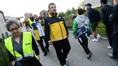 Parent patrols help quell Stockholm riots