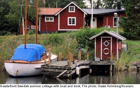 Swedish summer homes a hit with foreigners