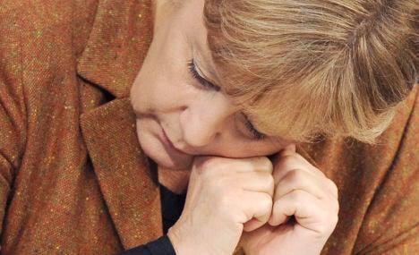 Merkel: I store sleep like a camel stores water