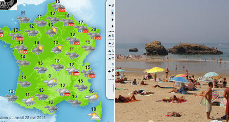 'Don't rule out a hot French summer just yet'