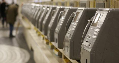 Fecal matter found on Madrid's public phones