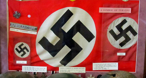 Teacher uses swastika in French geometry class