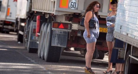 Hookers help out in Murcia street clean-up