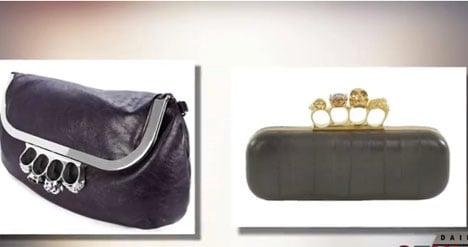 Cops cuff knuckleduster handbag sellers