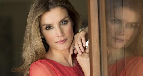 Spanish royals register 'Queen Letizia' brand