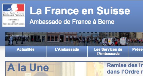 French embassy rapped for online banking link