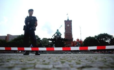 Berlin police say lethal shot was 'defence'